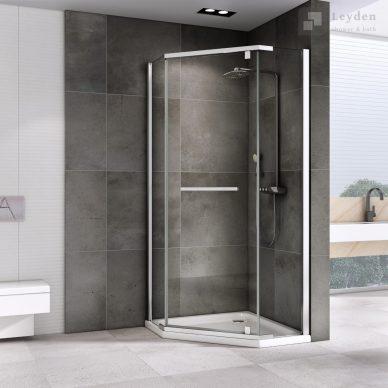 KABINA prysznicowa pięciokątna UCHYLNA DS501 - LEYDEN