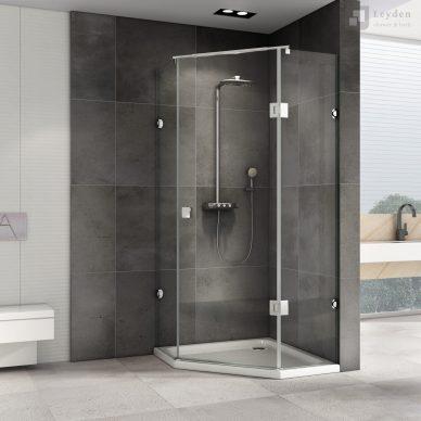 KABINA prysznicowa pięciokątna UCHYLNA DS502 - LEYDEN