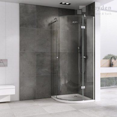 KABINA prysznicowa półokrągła UCHYLNA DS405 - LEYDEN