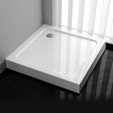 Brodzik prysznicowy kwadratowy wysoki 15cm - LEYDEN